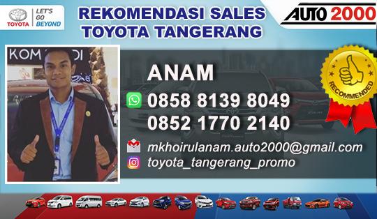 Rekomendasi Sales Toyota Tangerang TSO 061
