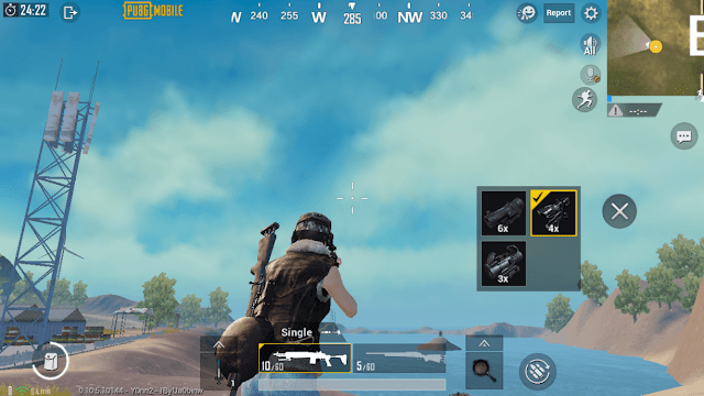 How to Activate the Scope Replacement Feature on PUBG Mobile Screen