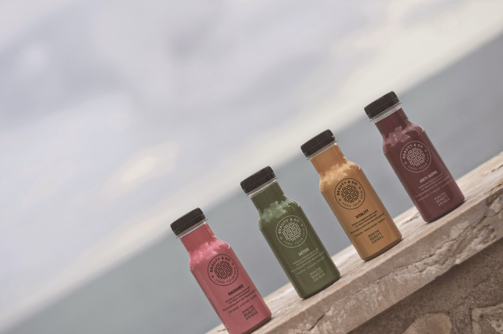 Beauty & Go, purifying drinks