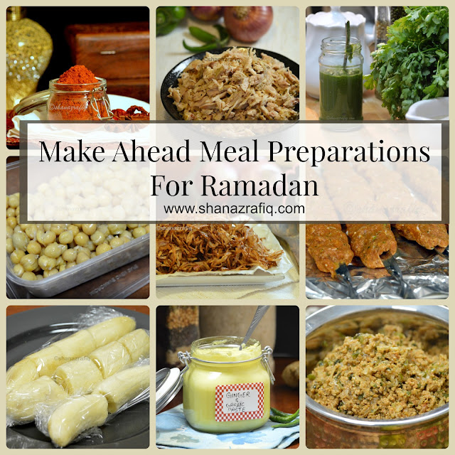 Meal Preparation for Ramadan