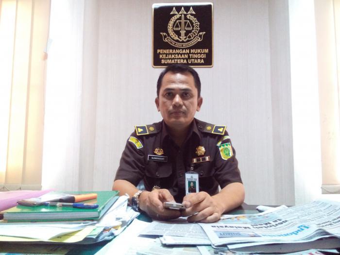 Kepala Seksi Penerangan Hukum dan Humas Kejati Sumut, Sumanggar Siagian