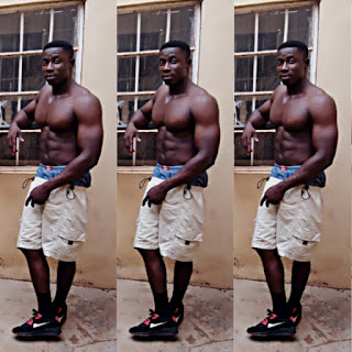 "Flagup ""infantry first son""  Flaunts His Impressive Muscle and Six Packs In New Photos For The Ladies 6"