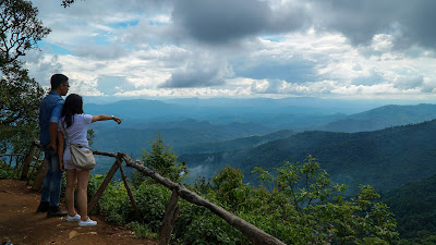 This isn't actually Doi Pui peak, rather a viewpoint located along the road on the way to it