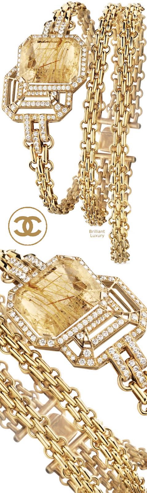 Brilliant Luxury♦Chanel My Chain bracelet