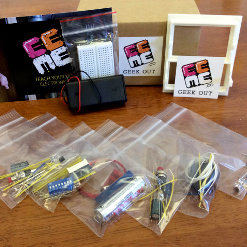 hands-on, electronics based project for kids