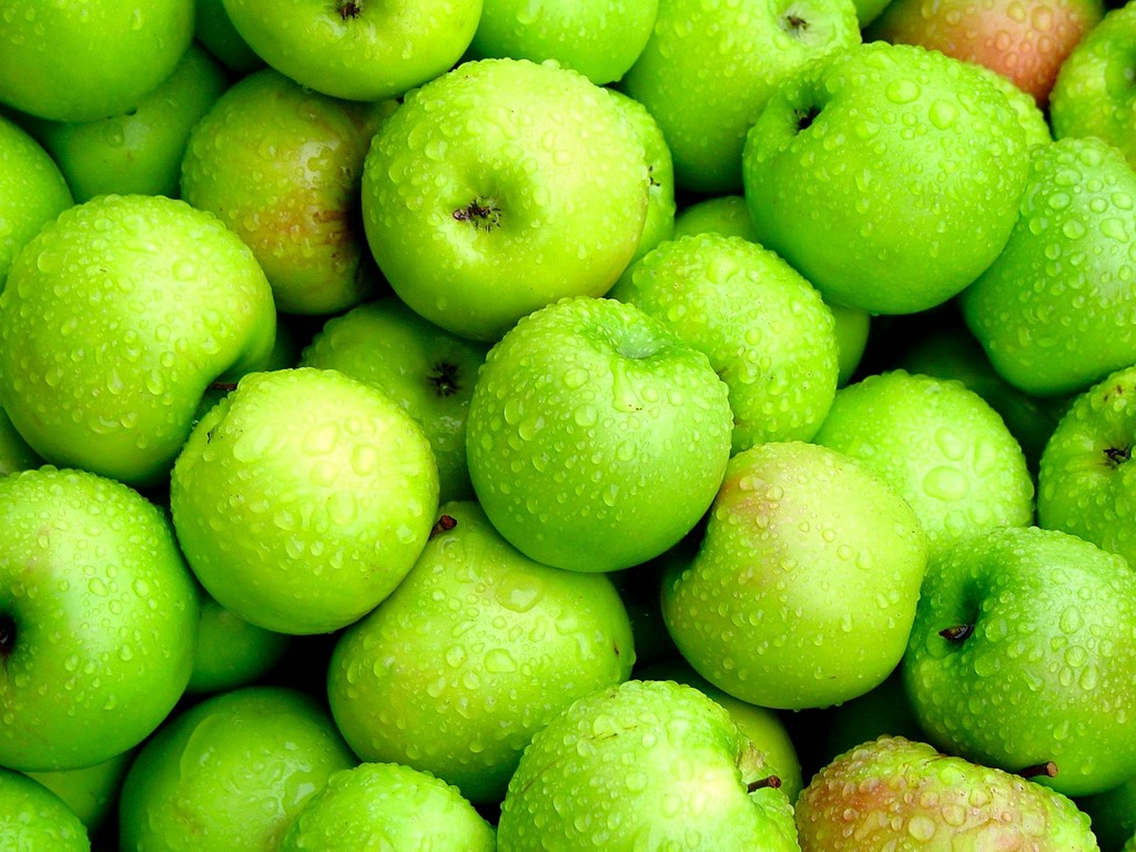 wallpapers manzana verde mac - photo #38