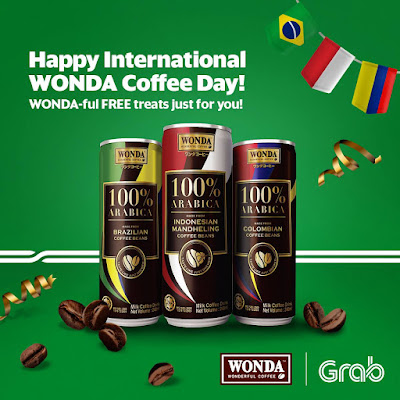 Grab Free Wonda Coffee