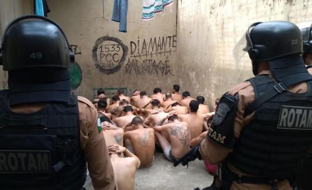 Rotam e Polícia Civil realizam operação bate grade em Faxinal