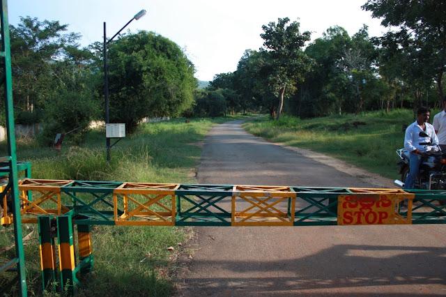 Hondarbalu checkpost is the chief entrance to BRT tiger reserve between Chamarajanagar town and K.Gudi near Chamarajanagar town