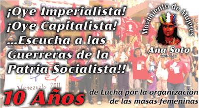 Por la Unidad Popular Revolucionaria de las Mujeres Combativas