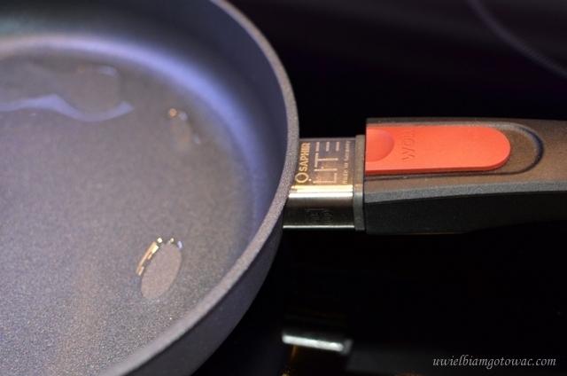 Recenzja tytanowo-diamentowych patelni WOLL