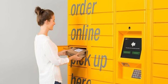 Retirando suas encomendas no Amazon Locker
