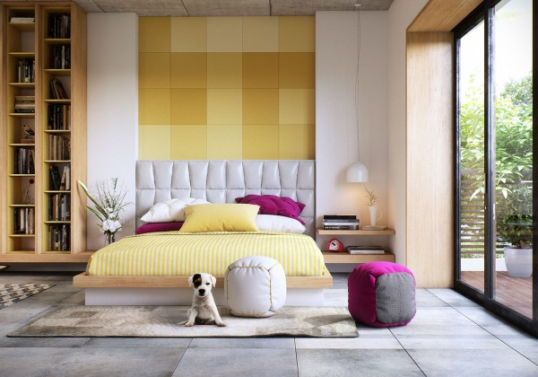 35 Kumpulan Denah Model Desain Gambar Kamar Tidur Minimalis Mewah