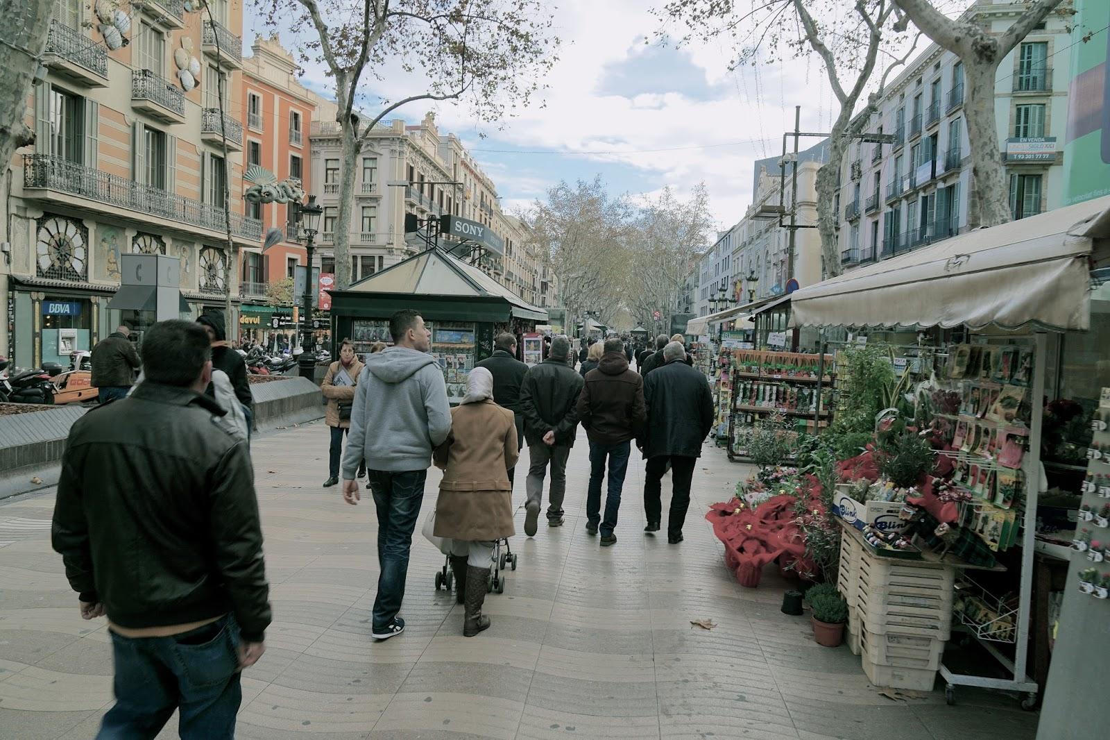 ランブラス通り(La Rambla)