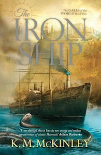 Interview with K. M. McKinley, author of The Iron Ship - May 23, 2015
