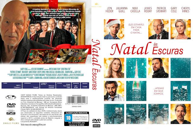 Capa DVD Natal às Escuras [Custom]