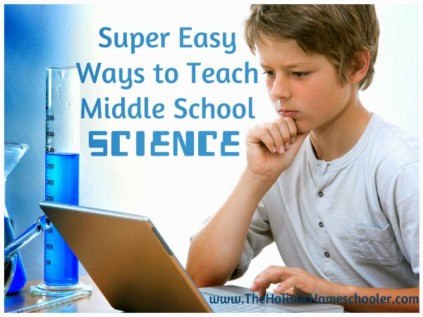 Science doesn't need to be difficult. This 5-part series offers super easy ways to teach science to middle school students.