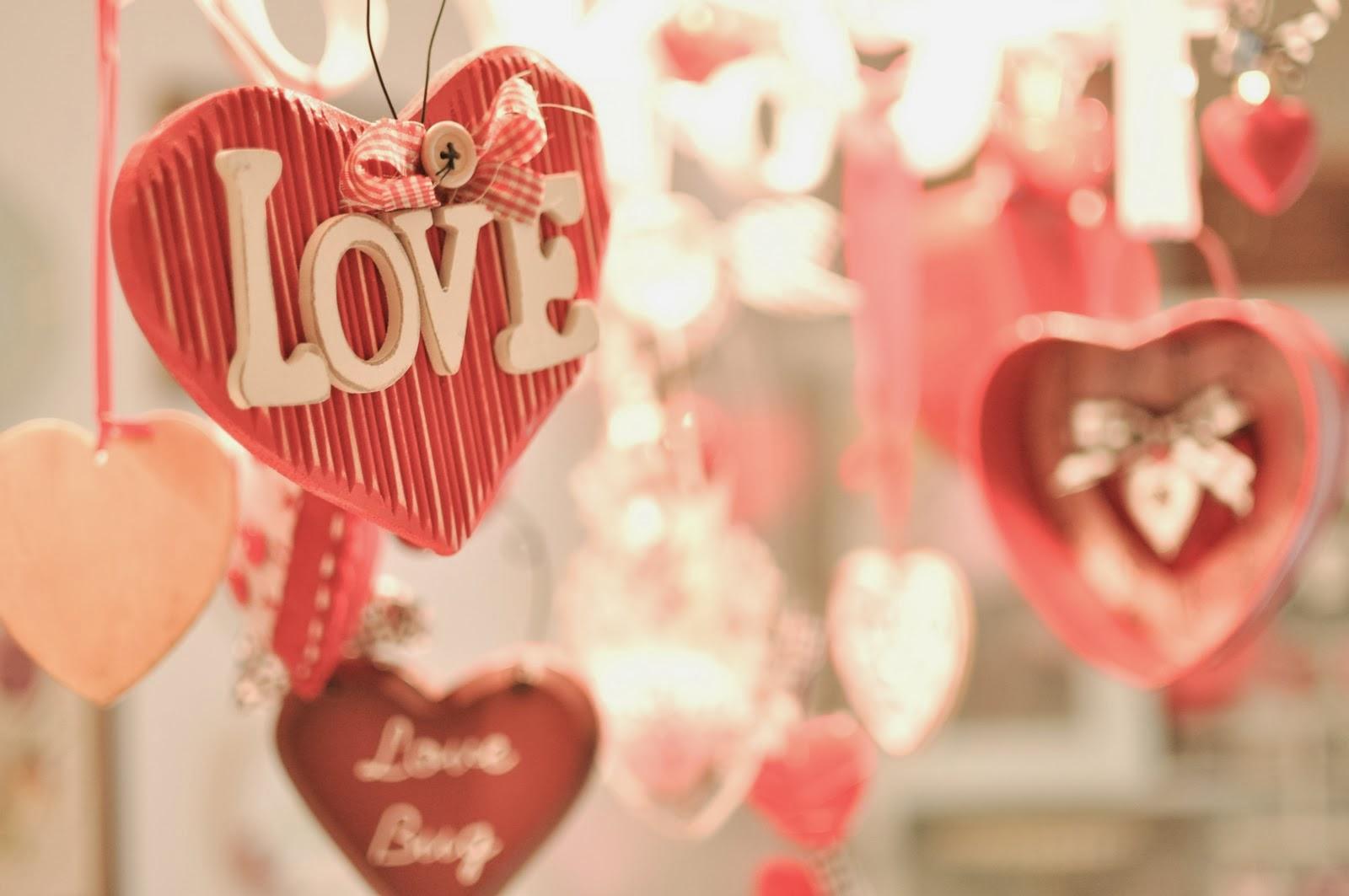 Decoración San Valentín. Ideas.