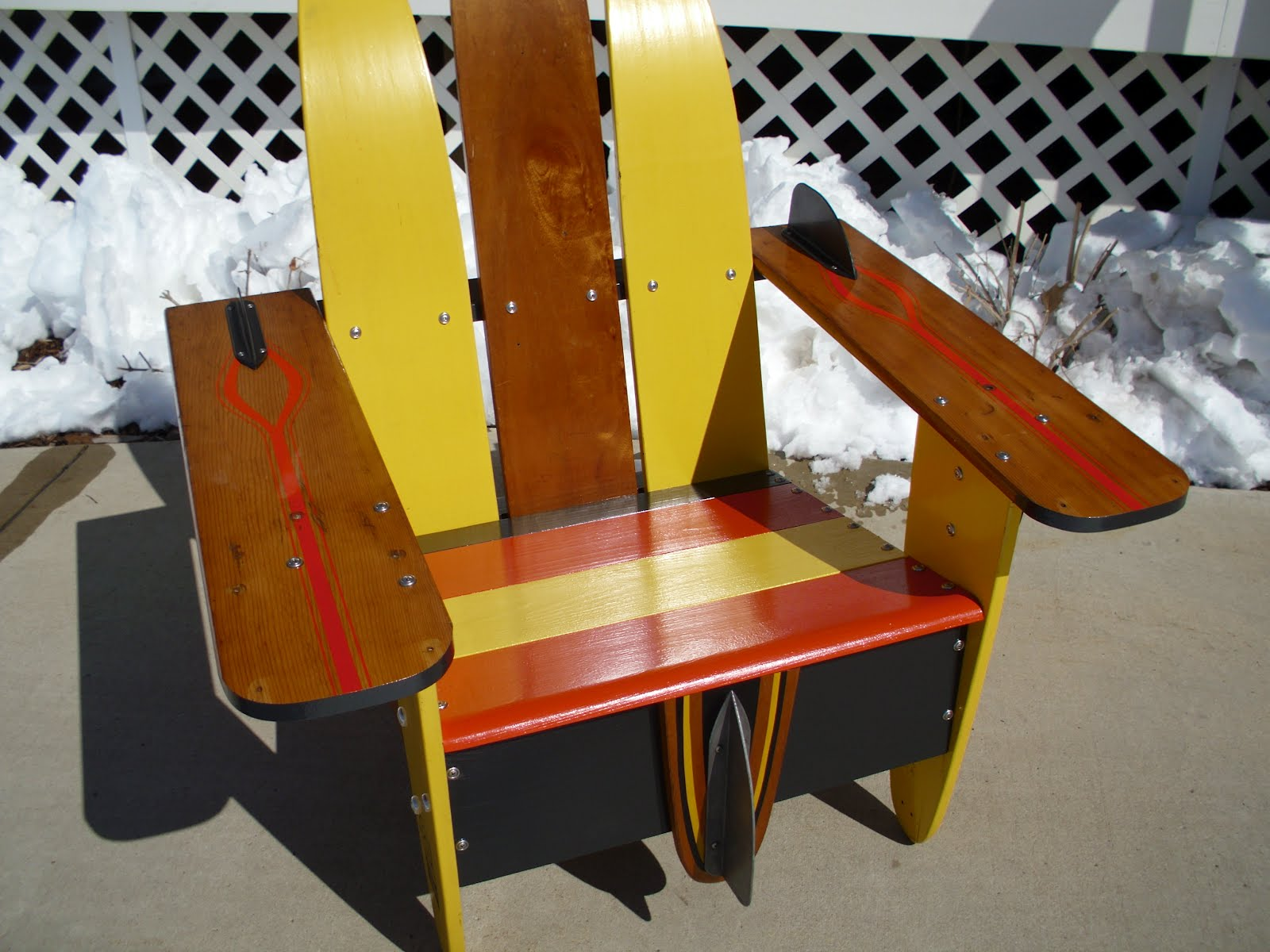 Vendor Profile Vintage Water Ski Chairs Junk Bonanza