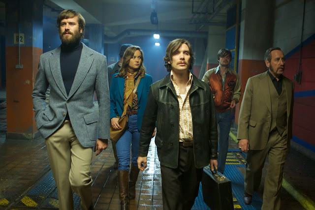 Free Fire -  Armie Hammer, Enzo Cilenti, Brie Larson, Cillian Murphy, Sam Riley and Michael Smiley