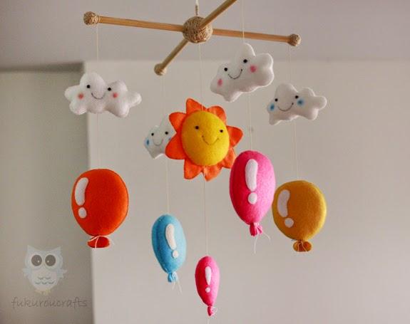 Nursery  Baby Crib Mobile, Felt Doll, โมบาย เปล เตียง เด็ก, ตุ๊กตา ผ้า สักหลาด