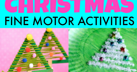 christmas fine motor activities the ot toolbox. Black Bedroom Furniture Sets. Home Design Ideas