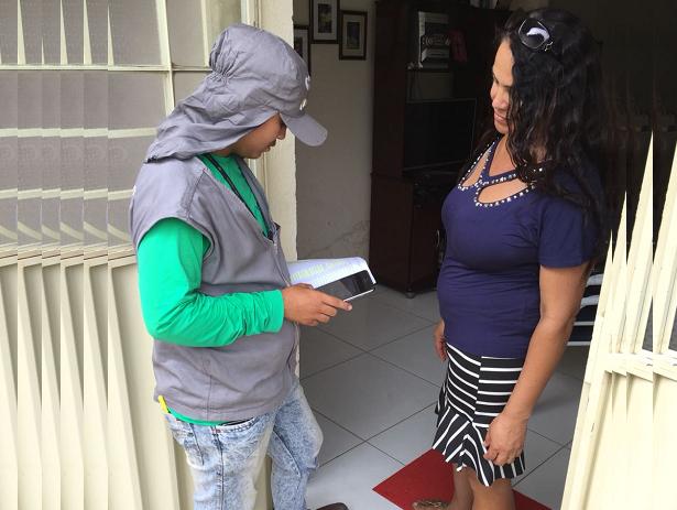 Compesa inicia recadastramento de clientes na cidade de Ipojuca