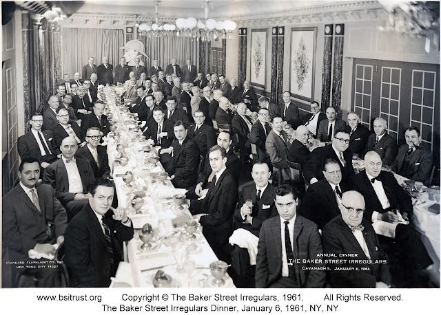 The 1961 BSI Dinner group photo