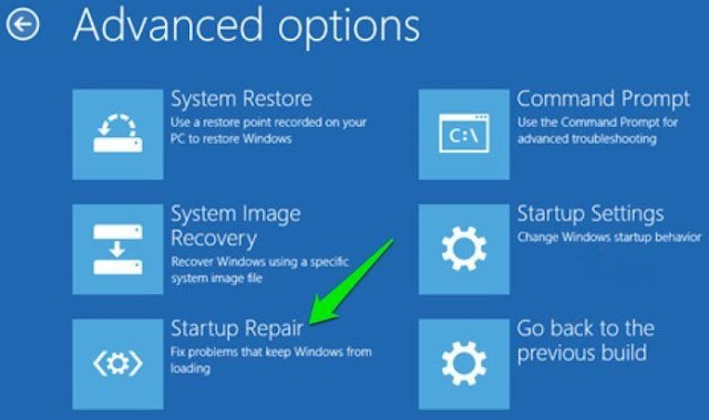 Startup Windows 10