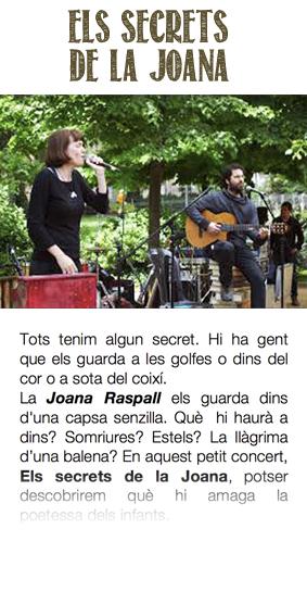 Els secrets de la Joana