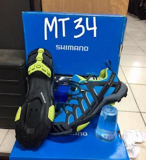Sepatu Sepeda Shimano MT34