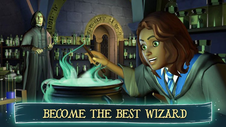 Harry potter hogwarts mystery game is now available on