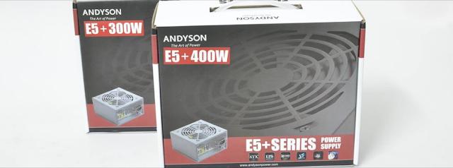 Andyson E5+ 300W -Passive PFC Single Rail True Power 1