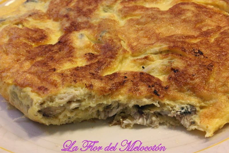 TORTILLA DE ANCHOAS FRESCAS