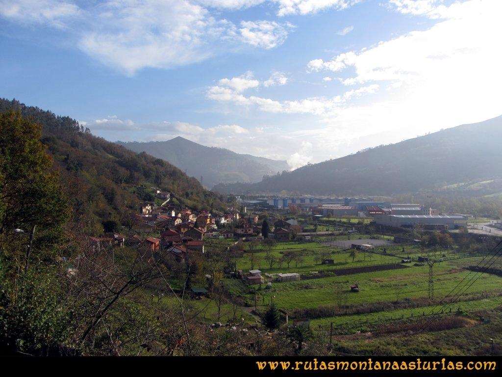 Ruta Baiña, Magarrón, Bustiello, Castiello. Valle de Baiña