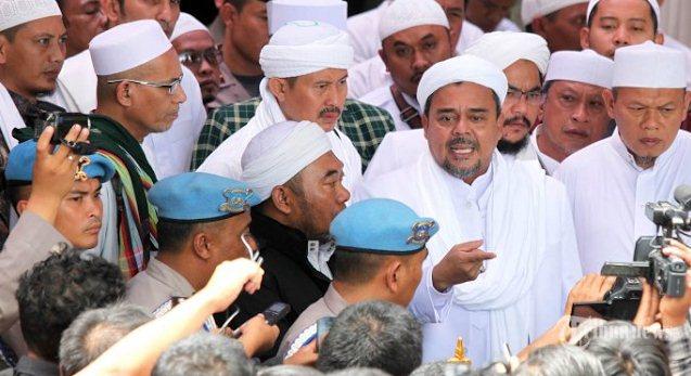 Ternyata Diam-Diam Polisi Sudah Periksa Habib Rizieq di Mekah