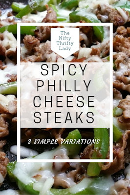 Philly Cheese Steaks on a Budget