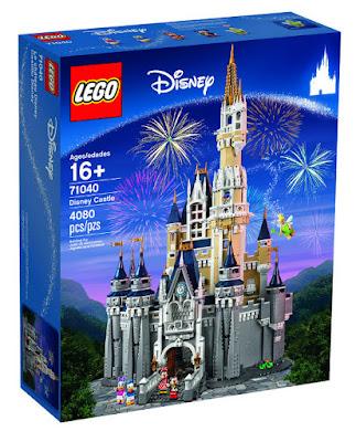 TOYS : JUGUETES - LEGO Disney  71040 Castillo Disney | Castle | 2016  Piezas: 4080 | Edad: +16 AÑOS  Comprar en Amazon España & buy Amazon USA