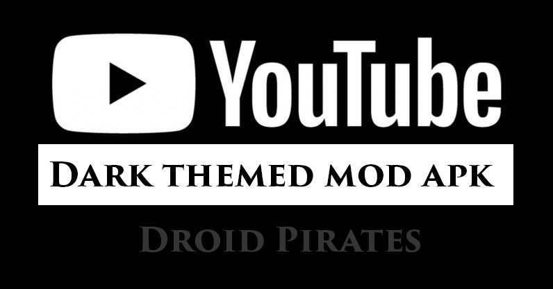 Youtube Black Mod Apk Download idea gallery