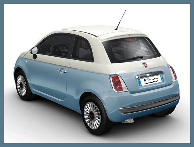 Preferenza 5ooblog | FIAT 5oo: New Fiat 500 BICOLORE - BLUE & WHITE MO83