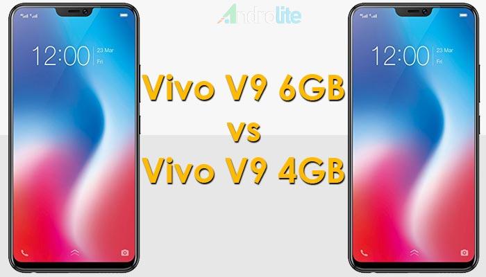 Vivo V9 6GB vs V9 4GB