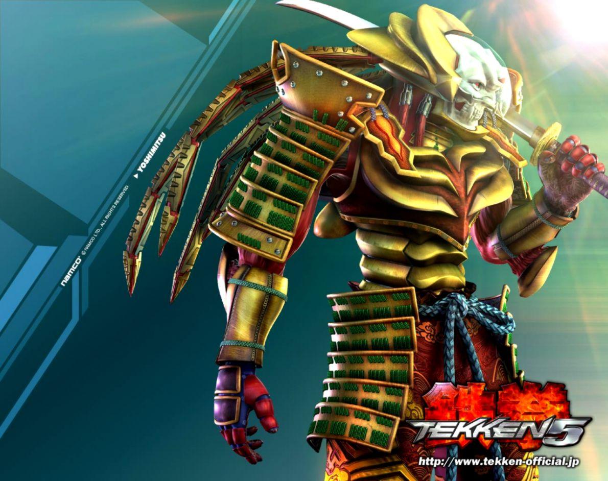 iron fist Yoshimitsu