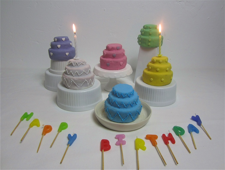 Mini-Vanilletörtchen mit Marmelade