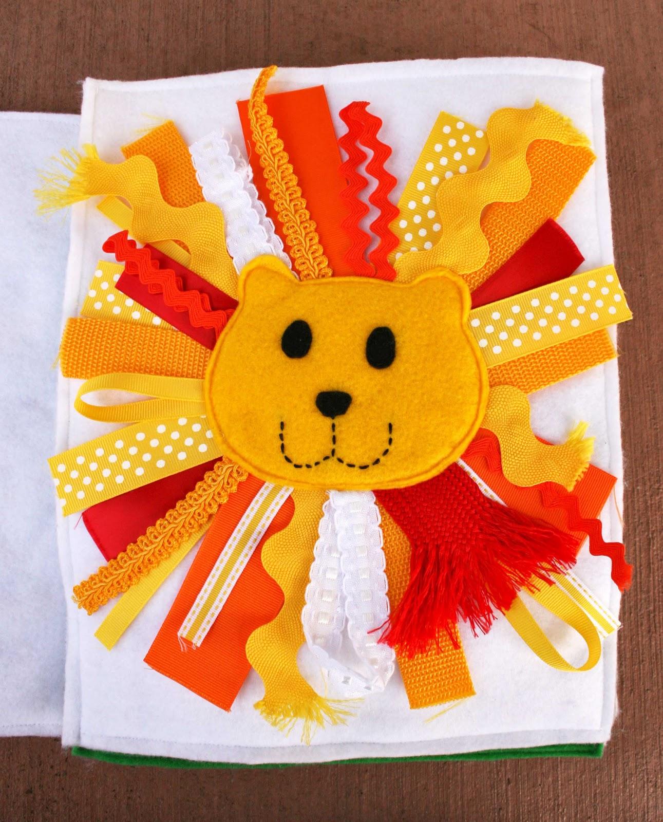 Sunshine, Lollipops, and Rainbows: The Lion! - Quiet Book ...
