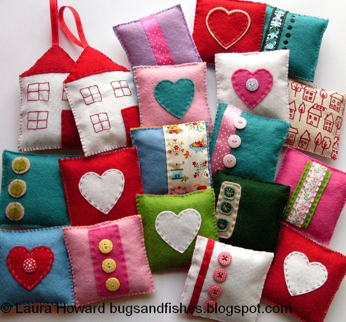 Bugs And Fishes By Lupin Lavender Sachet How To