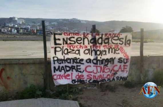 Borderland Beat: Ensenada: 6 executed, banner goes up