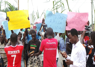 CORD rallies disrupted by Anti-CORD in Mumias. [Image: Citizentv]
