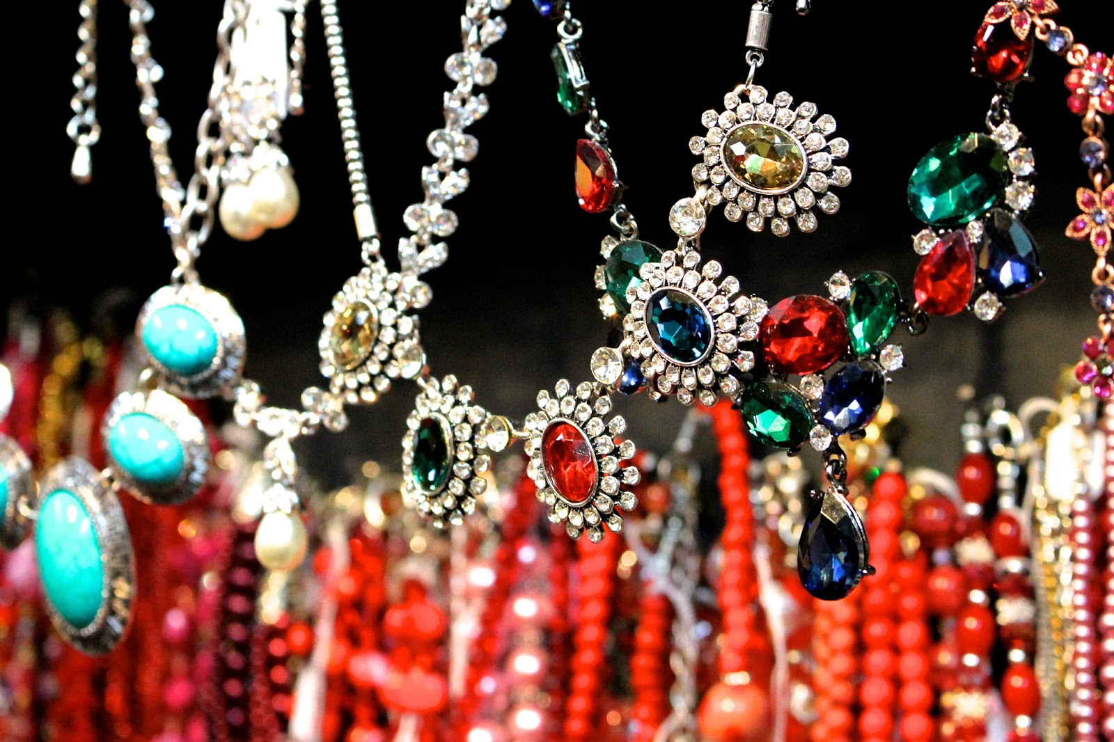 Costume Jewellery Colourful Photography