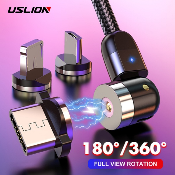 USB Type C Fast Magnetic Charge For iPhone 11 Samsung Huawei USB C Charging Wire