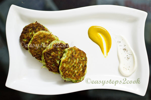 Zucchini Fritters healthy evening snacks